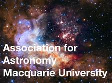 Association for Astronomy - Macquarie University logo