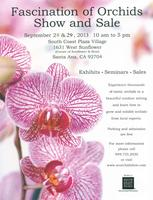 Fascination of Orchids Show & Sale