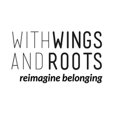 With Wings and Roots logo