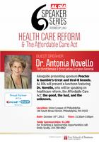 AL DÍA National Speaker Series with Dr. Antonia Novello