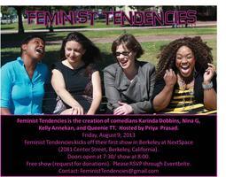 Feminist Tendencies Comes to Berkeley!