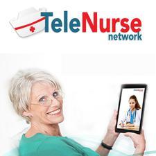 TeleNurse network logo