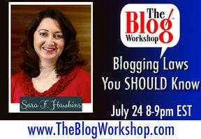 oThe Blog Workshop: Blogging Laws You SHOULD Know -...