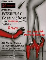 FOREPLAY: Unleash Poetry Night