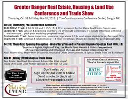 Greater Bangor Real Estate, Housing & Land Use...