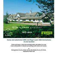 HiddenSystems / Rega 40th Anniversary including LINN...