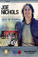 Joe Nichols Live at Kanza Hall with special guest Back Road ...