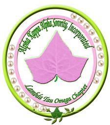 Lambda Tau Omega Chapter of Alpha Kappa Alpha Sorority, Inc. logo