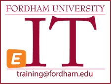 Fordham IT - Technology Training logo