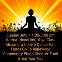 Inglewood Karma Yoga (Donation Class) #floodyyc...