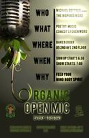 Tuesday Night Organic Open Mic @ Bareburger East...