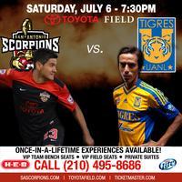 Tailgate Party & Scorpions vs Tigres