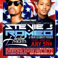 Romeo Miller and Stevie J Friday July 5th