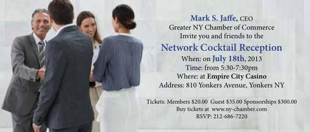 Mark S. Jaffe Networking Event