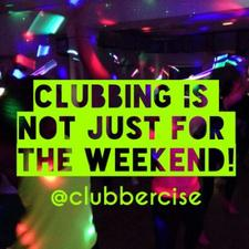 Clubbercise Burton & Derby with Emma Gittus logo