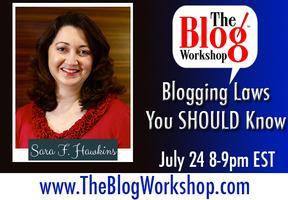 The Blog Workshop: Blogging Laws You SHOULD Know -...