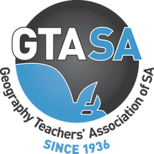 Geography Teachers' Association of SA logo