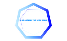 Blue Creates the Open Space logo