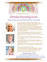 Ultimate Parenting Event (Yoga, Book Launch, Premiere...