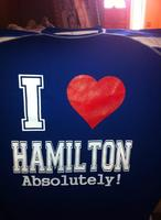 I LOVE HAMILTON SHIRT...25TH EDITION