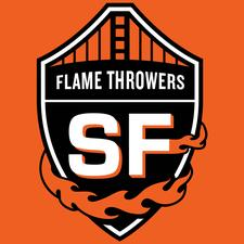 The San Francisco Flamethrowers logo