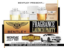 Industry Monday Night @Havana Club. Bentley Fragrance...
