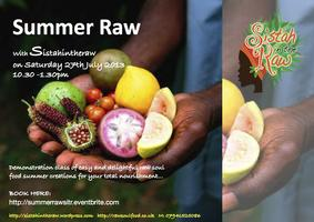 Summer Raw with Sistahintheraw