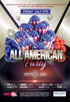 All American Party at Havana Club