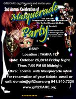 Masquerade Party 2nd Annual Celebration
