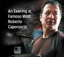 An Evening with Roberto Caporusio