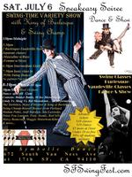 Speakeasy Dance & Swing-Time Variety Show & Benefit