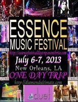 Essence Music Festival 2013 Day Trip