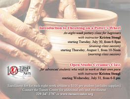 Summer Adult Pottery & Ceramics Classes