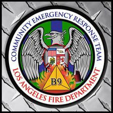 LAFD CERT Battalion 9 - Coordinator logo