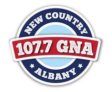 WGNA 107.7 logo