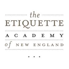 The Etiquette Academy of New England logo