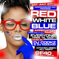 """RED WHITE & BLUE APPRECIATION PARTY"""