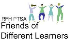 Rumson-Fair Haven  Friends of Different  Learners logo