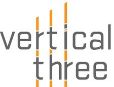 Vertical Three logo