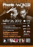 The Grown Music Lives Tour starring Phonte & 9th Wonder @...