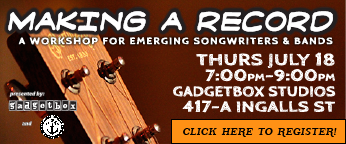 """Making A Record"": A Workshop for Emerging Songwriters..."