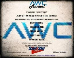Austin Wakesurf Club Annual Competition