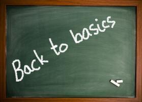 Mini Seminar - Back to Basics