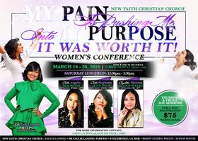 My Pain Is Pushing Me Into My Purpose 2016