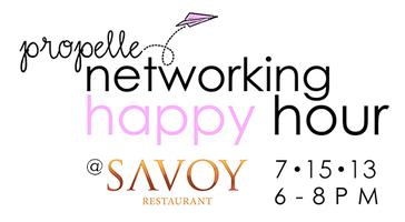 July Propelle Networking Happy Hour