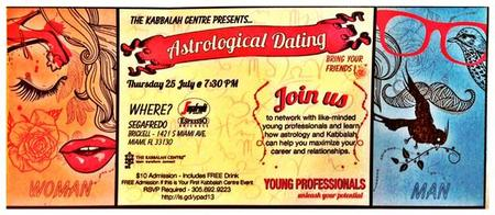 Astrological Dating - for Young Professionals