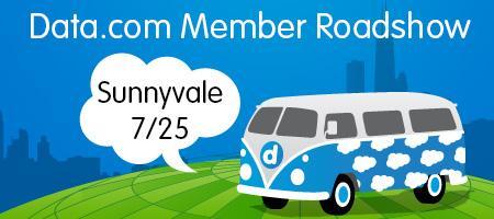 Data.com Connect Member Roadshow in Sunnyvale