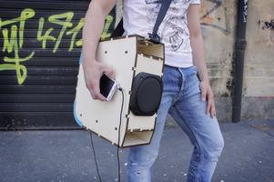 Music in a BOOMbox!