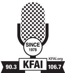 KFAI Radio 90.3FM/106.7FM logo