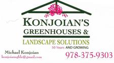 Konjoians Greenhouses and Landscape Solutions logo